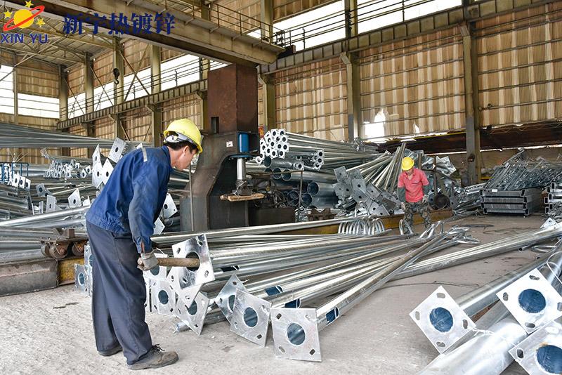 江门新宇热镀锌公司分享钢结构热镀锌技术步骤